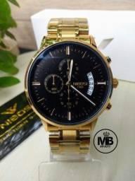 Relógio Nibosi Masculino Funcional - Novo e Original! Whatsapp na descrição.