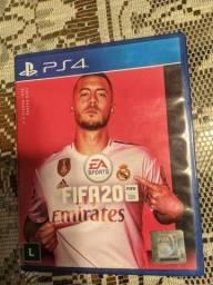 Título do anúncio: Vendo 2 jogos FIFA 20 e FIFA 19 para PS4