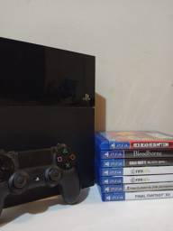 PS4 Fat original completo
