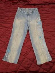Título do anúncio: Calça jeans PANTA COURT SEMI NOVA