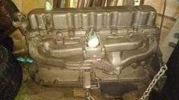 Motor 6 cilindros álcool opala