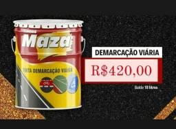 Título do anúncio: Tinta demarcação 18l na Cuiabá tintas