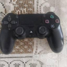Título do anúncio: Controle PS4 Preto Dualshock 4 Original