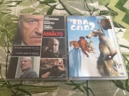 DVDs originais usados em ótimo estado (preço por unidade)