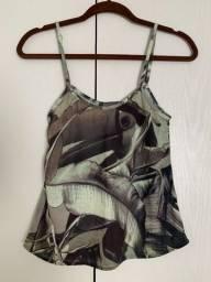 Blusa Com Estampa De Tucano Da South & Co (tamanho M) - Nova