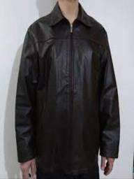 Jaqueta de couro masculina, Tevah.