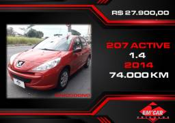 Peugeot 207 Active 2014 - Único dono