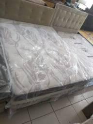 Conjunto box molas ensacadas queen 1,58 x 1,98
