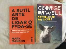 Dois livros: 40 reais