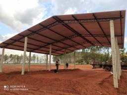 Título do anúncio: Barracão Pré moldado usado bom para lavoura