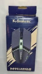 Mouse gamer k snake M11 NOVO