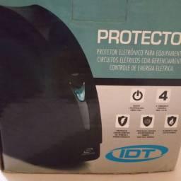 Vitrine e balcão de aluminio, Protetor eletrônico