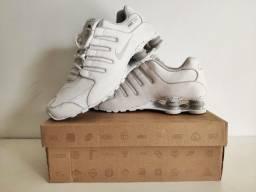 Tênis Nike Shox Nz Eu Branco