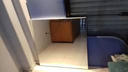 Quadros Madeira com espelhos 90cmx90cm - 3 peças