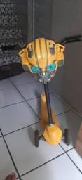 Patinete Skatenet - Transformers - Bumblebee - Bandeirante