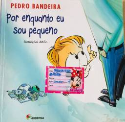 Livro: Por Enquanto Eu Sou Pequeno de Pedro Bandeira
