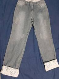 Calça jeans- Mara Mac