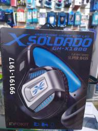 Headfone gamer usb/p3 7.1 surround led c/mic gh-x1800  Exbom