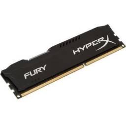 Memória HyperX Fury de 8 Gb DDR3 1600/1866Mhz