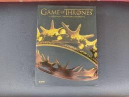 Box DVD Game Of Thrones - Segunda Temporada Completa R$10,00