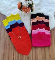 Título do anúncio: Cropped tricot