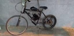 Bicicleta com motor 80cc Ou faço troca com volta