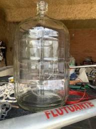 Galão de vidro 20 litros - carboy