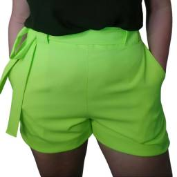 Short Alfaiataria Plus Size