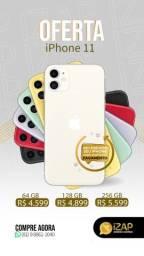 iPhone 11 64GB ( 1 ano de garantia Apple, capinha e película grátis )