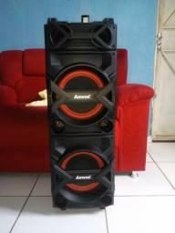 Caixa de som Amplificada Amvox 750w