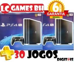 PlayStation 4 Pro 7215b +30 JOGOs + 06 Meses Garantia