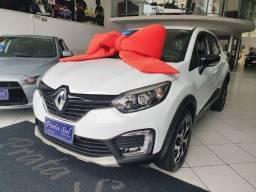 Título do anúncio: Renault Captur Intense 1.6 CVT 3019 Top de LInha, Couro, 35MIl KM, Unico Dono, Periciada
