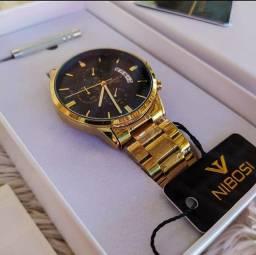 Título do anúncio: Relógio masculino Nibosi - NOVO ORIGINAL  (100% Funcional)