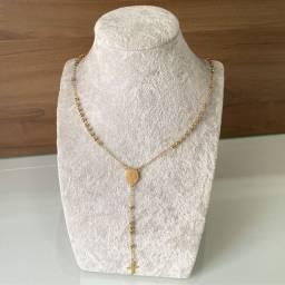 R$250 cordão banhado a ouro 18k com 1 ano de garantia! Entrega em mãos!