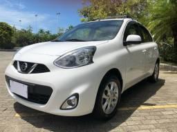 Nissan March SV 1.6 2015/2016 C/ Apenas 48 Mil Km Rodados