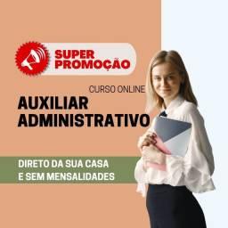 PROMOÇÃO - CURSO AUXILIAR ADMINISTRATIVO