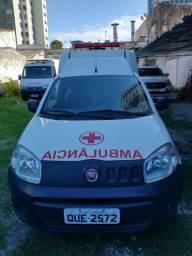 Título do anúncio: Ambulancia simples remoção FIAT FIORINO 2020