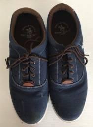 Tênis Polo Azul Marinho