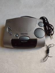 Rádio relógio Toshiba RR  1267 AM/FM
