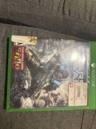 Título do anúncio: Jogo gears of War 4 Xbox funcionando