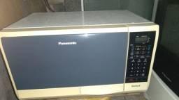 Microondas Panasonic com defeito