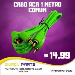 Título do anúncio: Cabo Rca 1 Metro Comum