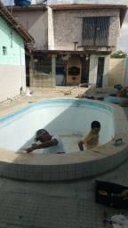 Conserto de piscina