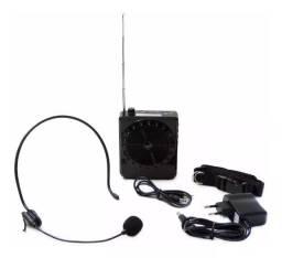 Megafone Amplificador Voz Microfone Professor MP3 Fone Aula Palestra  Wpp: *