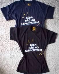 Camiseta Diga Não ao Capacitismo