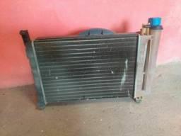 Radiador com ventilador do uno quadrado