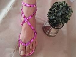 Sandalia mona R/ violeta/ 36/37. Original...