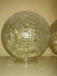 Globo de lustre de vidro