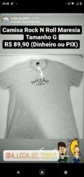 Camisa Rock N Roll Maresia Tamanho G