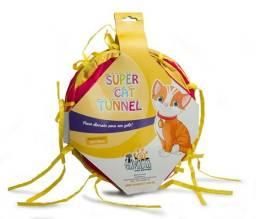 Brinquedo túnel para gatos em poliéster
